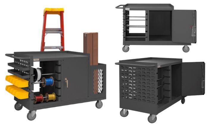 Mobile Wire Spool Amp Maintenance Cart Dlp Industries